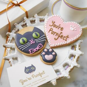 You're Purrfect Cat Biscuit Gift Box
