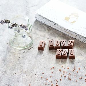 'I Love You' Romantic Chocolates - gifts under £25