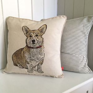 Corgi Feature Cushion - home sale