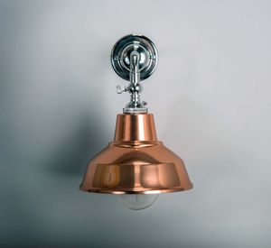 Adjustable Copper Finish Wall Light - wall lights