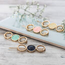 Gold Eclipse Hair Clips