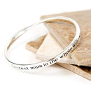 Bestest Friend Message Bangle