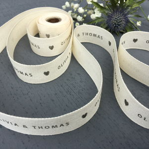 Wedding Ribbon - wedding stationery