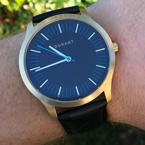 Gold And Blue Dialmaster Watch