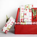 Christmas Luxury Eco Wrapping Paper
