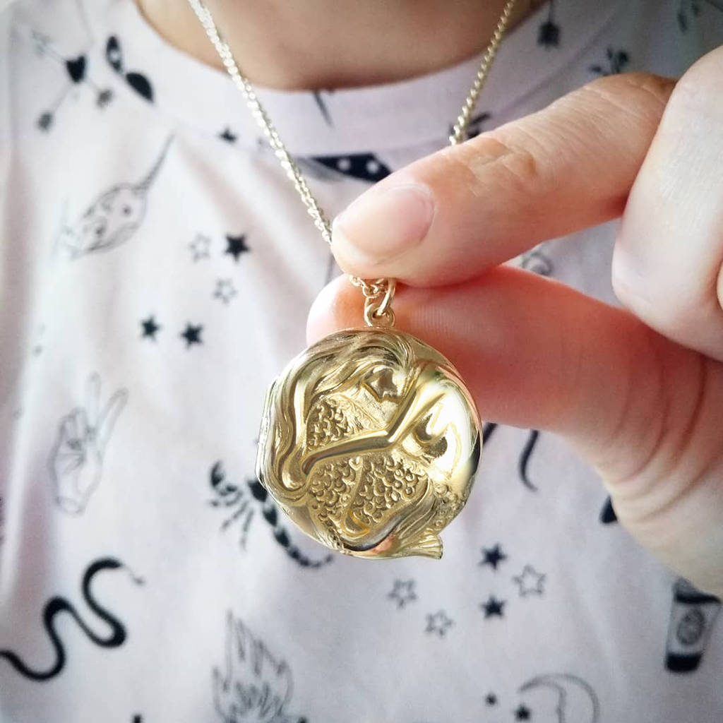 Personalised Mermaid Locket
