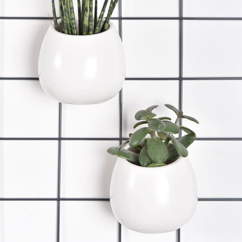 Ceramic Pot For Wire Mesh Moodboard