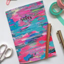 'Notes' Colourful Blank Notebook