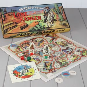The Lone Ranger Board Game - traditional toys & games