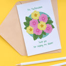 Primrose Personalised Teacher Thank You Card