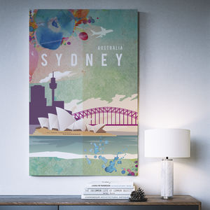 Sydney Australia Art Print - architecture & buildings