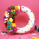 Festive Wreath Diy Craft Kit