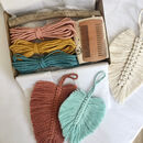 Macrame Feather Wall Hanging Craft Kit