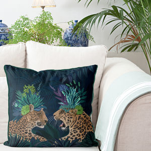 Hot House Leopard Decorative Cushions