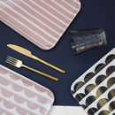 Patterned Melamine Tray