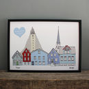 Reykjavik Personalised Print For Wedding
