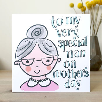 Nan Or Gran Mother's Day Card