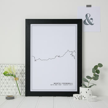 personalised gift for destination wedding honeymoon or first anniversary