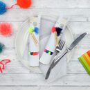 Christmas Colourful Llama Table Crackers