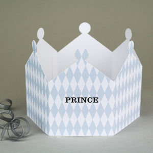Prince Harlequin Crown Card