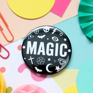 Magic Badge, Key Ring Or Mirror