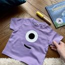 Personalised 'Eye Spy A Monster' Halloween T Shirt