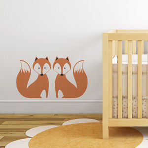 Foxy Wall Sticker