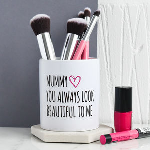 Mummy's Personalised Brush Pot - token gifts