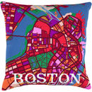 Boston City Map Tapestry Kit