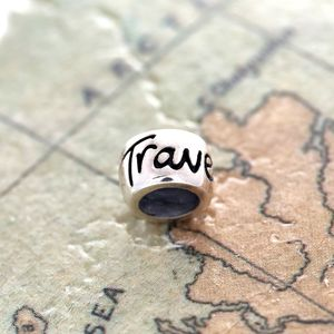 Travel Safe Solid Silver Mojo Charm - necklaces
