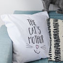 'Cat's Mother' Cushion