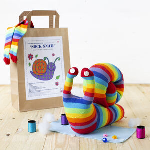 Sock Snail Craft Kit