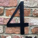 Trendy Large Black House Home Door Numbers