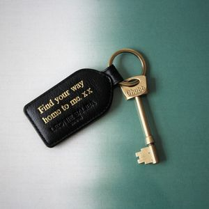 Personalised Luxury Classic Keyring