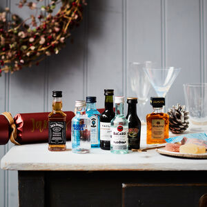 Luxury Personalised Christmas Crackers: House Spirits