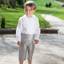 Silk George Pageboy Long Shorts