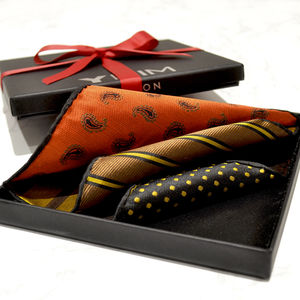 Luxury Versatile Silk Men's Pocket Square - mens
