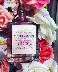 Rose Infused Pink Gin With Added Collagen - gifts for her