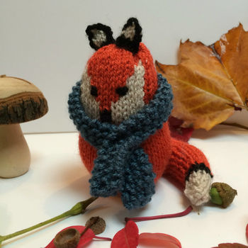 Fox Knitting Kit