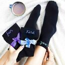 Days Of The Week Affirmation Socks Gift Set