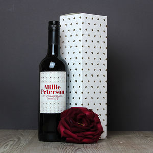 Personalised Wine - rose wine