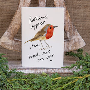 Robin Christmas Card / Pack