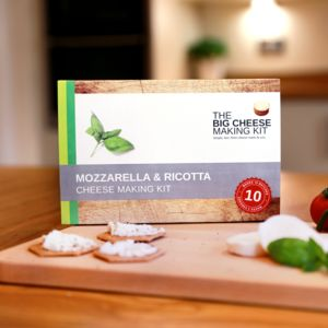 Make Your Own Mozzarella And Ricotta Cheese Making Kit - gifts for him