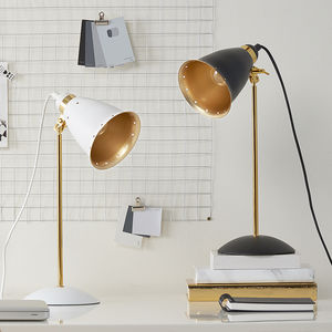 Retro Desk Lamps White Or Black