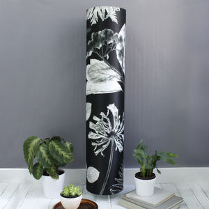 Monochrome X Ray Metre High Botanical Floorlamp