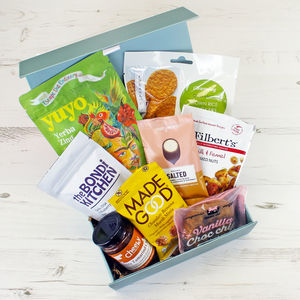 Taste Of The World Vegan Gift Hamper - hampers