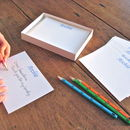 Set Of 18 Personalised Correspondence Cards
