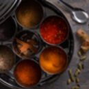 Indian Spice Tin Collection With Nine Indian Spices