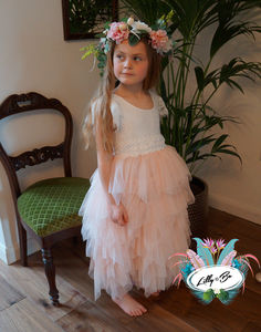 Seraphina ~ Flower Girl | Party Dress - bridesmaid dresses