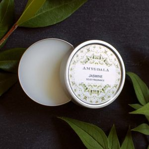 Jasmine Solid Perfume - gifts for friends